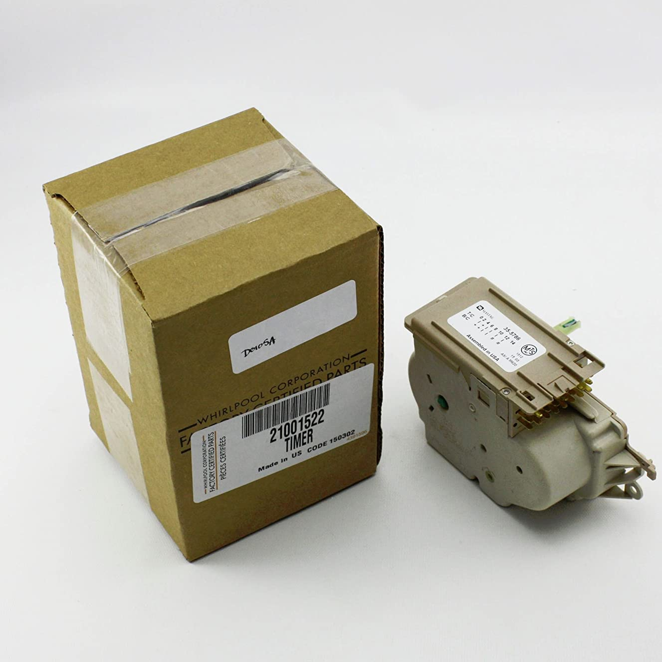 Whirlpool Part Number 21001522: TIMER