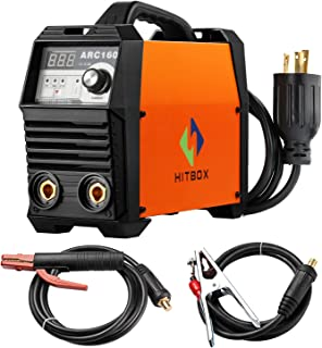 ARC Welder 160A Stick Welding Machine Digital Inverter Welder 220V DC Lift TIG Portable Welding Machine HITBOX