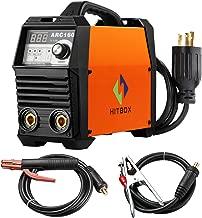 ARC Welder 160A Stick Welding Machine Digital Inverter Welder 220V DC Lift TIG Portable Welding Machine HITBOX