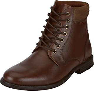 Red Tape Men's Leather Outdoor Boots