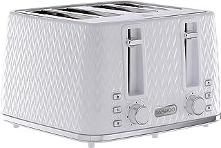Daewoo SDA1864 Argyle Patterned Opwarmen, Ontdooien & Annuleren Controls en Elektronische Browning Functie, Verwijderbare ...