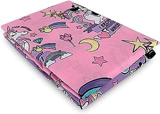 NEW IMPORT LICENCIAS, S.L Juego de cama de 3 piezas, funda nórdica Disney Minnie Mouse unicornio 160 x 270 cm + funda de a...