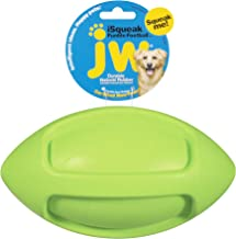 JW Pet Company iSqueak Funble Football Dog Toy, Large (Colors Vary)