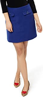 Review Women's Colette Mini Skirt Cobalt