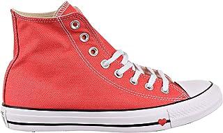 Converse Chuck Taylor All Star Ox Denim Love Unisex Shoes Indigo/Enamel Red 163305f (