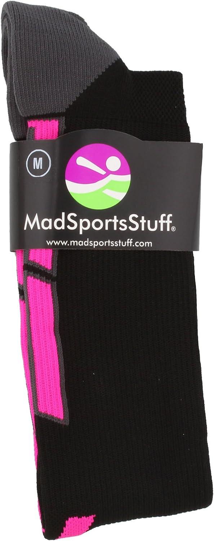 MadSportsStuff Triumph Pink Ribbon Breast Cancer Awareness Over The Calf Socks