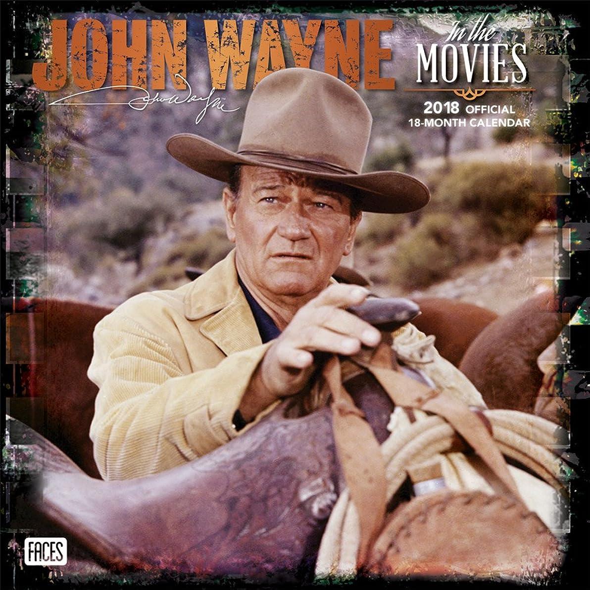 突破口克服する苦情文句John Wayne in the Movies 2018 Calendar