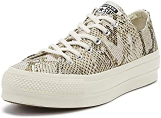 Converse Chuck Taylor All Star Lift Wild Womens Snake Ox Trainers