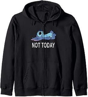 Disney Lilo & Stitch Laying Down Staring Up Not Today Sweat à Capuche