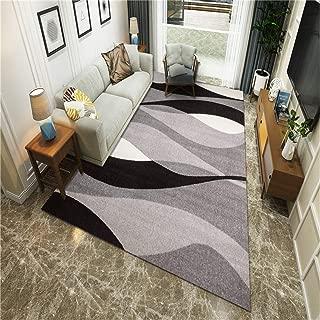 じゅうたん 6畳 ラグ 140 160ラグかわいい 100X160CM 現代の北欧のカーペットのリビングルームの寝室のカーペットクリスタルベルベットプリントカーペットマットJO56幾何学的要約化JO56