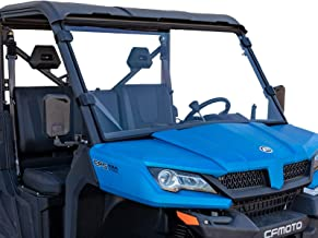 SuperATV Heavy Duty Scratch Resistant Full Windshield for CFMOTO UForce 1000 (2019) - Hard Coated for Extreme Durability