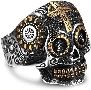 Best stainless skull rings Reviews
