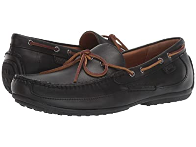 Polo Ralph Lauren Roberts (Black Heavyweight Smith Leather) Men