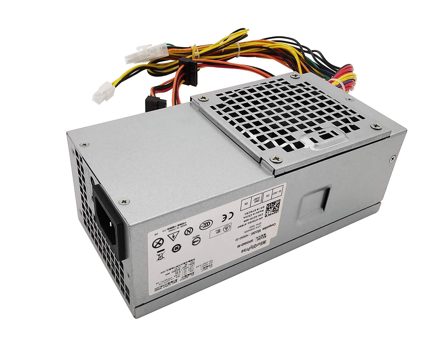 New Genuine Dell Inspiron 620s 580s 570s Slim Desktop Power Supply 6MVJH 5FFR5