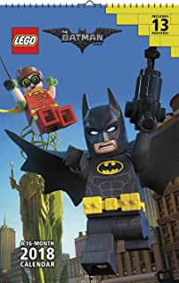 The Lego Batman Movie 2018 Calendar