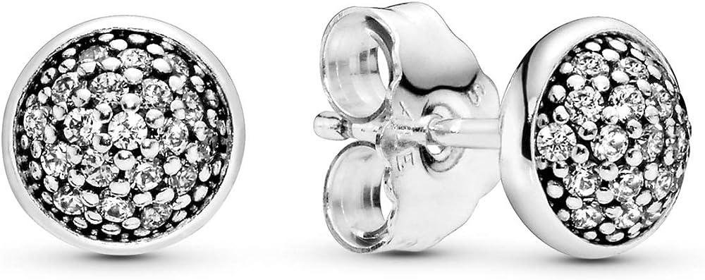 Orecchini da donna argento 925 con zirconi bianchi pandora 290726CZ