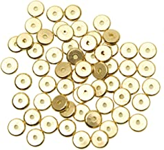 gold african beads