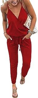 Best red beach jumpsuit Reviews