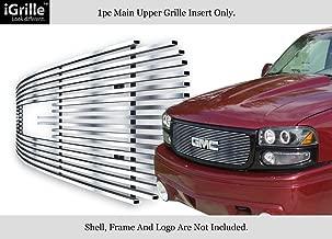 APS Compatible with 1999-2002 GMC Sierra 1500 2000-2006 Yukon 2001-2006 Yukon Denali Black Billet Grille Grill S18-H96358G