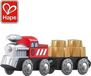 Hape Cogwheel Train| Wooden Railway Cogwheel Engine Toy Train for Kids