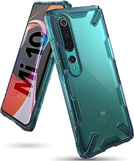 جراب شاومي مي 10 / 10 برو Xiaomi Mi 10, Xiaomi Mi 10 Pro رانجيكي فيوجن مقاوم للصدمات ويعمل مع الشحن اللاسلكي - اخضر تركواز