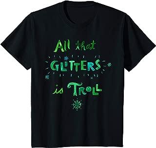 Kids DreamWorks' Trolls All that Glitters is Troll T-Shirt