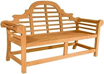 Anderson Teak Marlborough 2-Seater Bench, Jockey Red