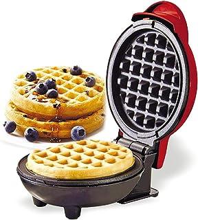 Waffle Maker, 350W Mini Mini Portable Dash Electric Wilfle Fer à repasser avec Pan Non-Stick Facile à nettoyer, pour le pe...