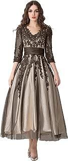 Women's A-line Applique Formal Evening Dresses Wedding Dresses Ball Gown