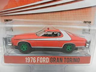 Greenlight Green Machine 1:64 Scale Hollywood Starsky & Hutch 1976 Ford Gran Torino Limited Edition Chase Piece