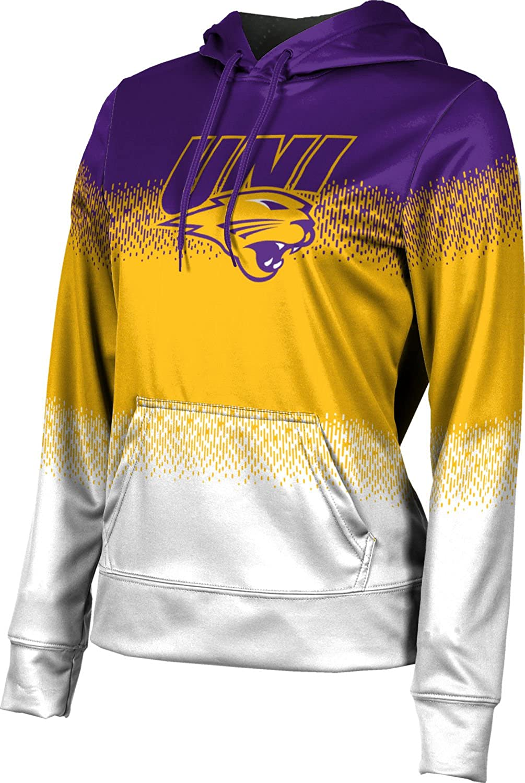University of Northern Iowa Girls' Pullover Hoodie, School Spirit Sweatshirt (Drip)