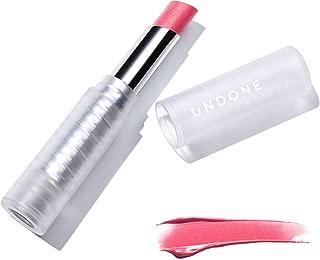 Light Reflecting, Lip Amplifying Lipstick. Sheer, Buildable, Hydrating Color - UNDONE BEAUTY Light On Lip. Aloe, Coconut & Volume Enhancing Pigment. Paraben, Vegan & Cruelty Free. SORBET PINK