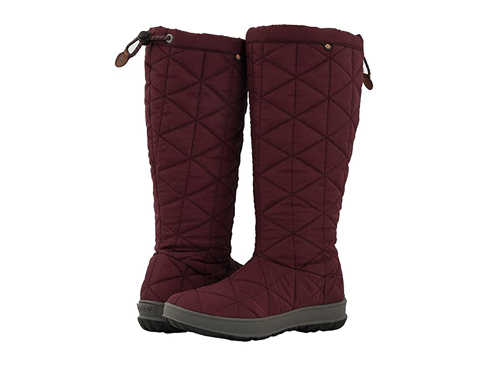 Bogs Snowday Tall (Wine) Women