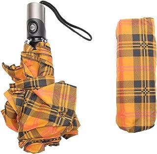 Parapluie de Voyage Compact Motif cr/âne Camouflage Militaire Anti-UV Ouverture et Fermeture Automatique Coupe-Vent