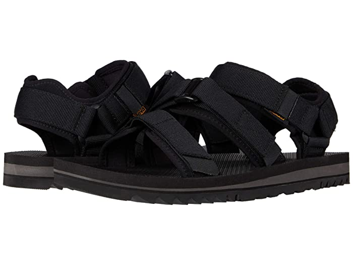 Teva  Cross Strap Trail (Black) Mens Shoes
