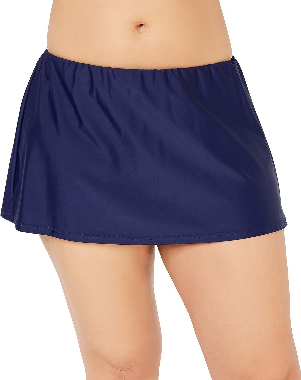 Island Escape Plus Size Swim Skirt