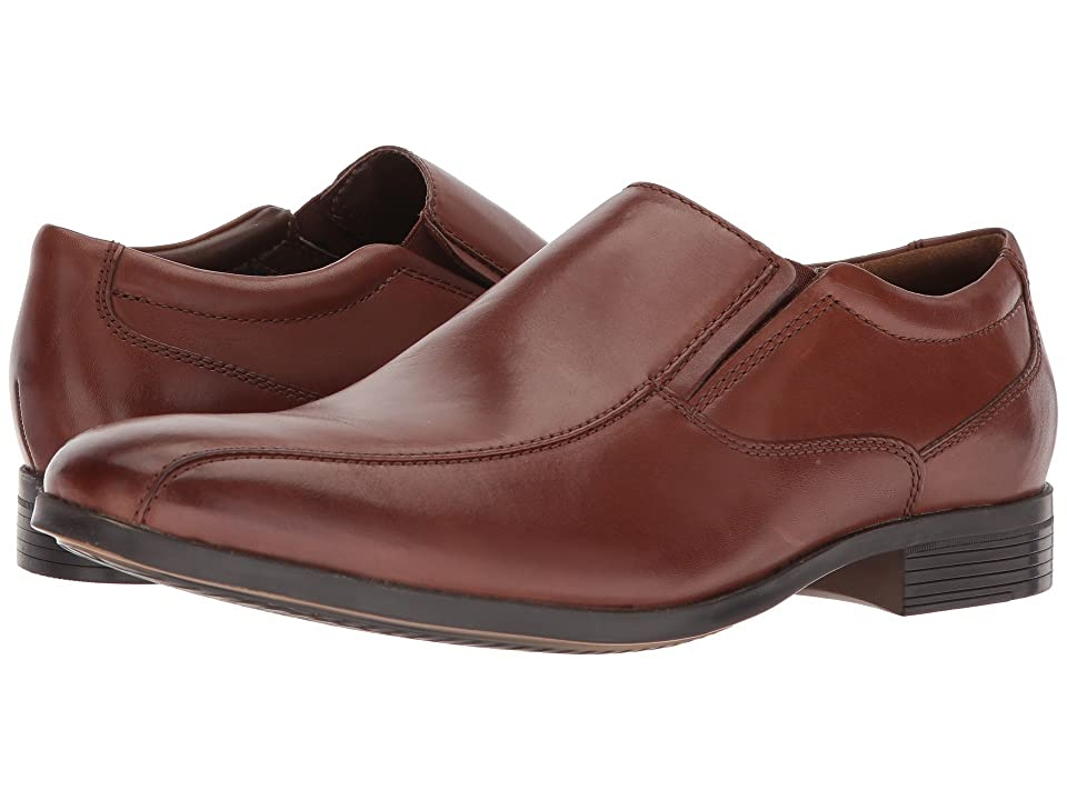 Clarks Conwell Step (Tan Leather) Men