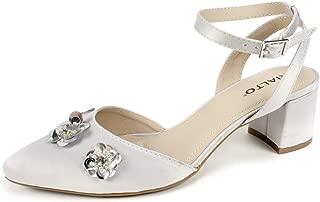 RIALTO Womens R7483 Marjorie Grey Size: 9.5