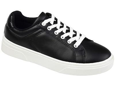 Journee Collection Comfort Foamtm Leeon Sneaker (Black) Women