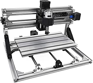 VEVOR CNC 3018 CNC Router Kit 3 Axis CNC Router Machine GRBL Control with ER11 and 5mm Extension Rod for Plastic Acrylic P...