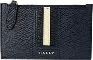 [バリー] BALLY バリー コインケース 6221812 TENLEY LT17 カードホルダー付き NEW BLUE ダークネイビー系 [並行輸入品]