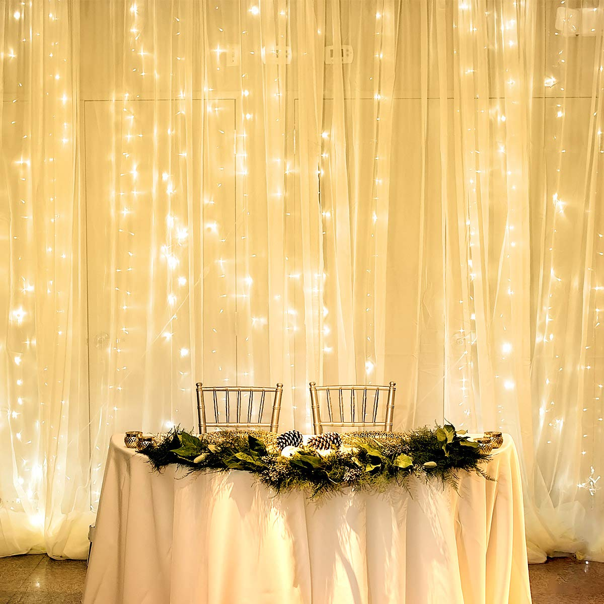 Curtain Setting Function Decoration Wedding