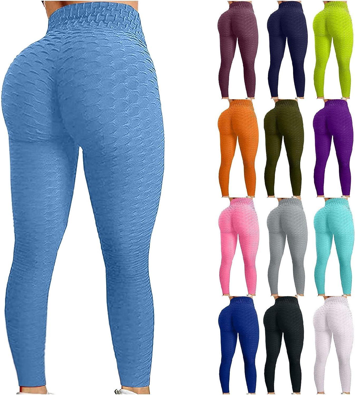 Hugogo High Waisted Women's Charlotte Mall Leggings Tummy Yoga Pants Super beauty product restock quality top Waist