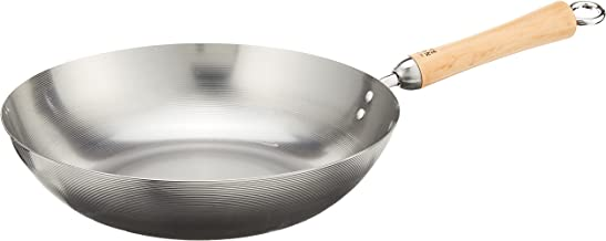 Joyce Chen 21-9979, Classic Series Carbon Steel Stir Fry Pan, 12-Inch