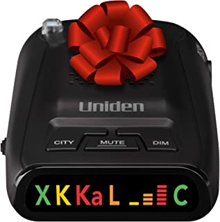 Uniden DFR1 Long Range Laser and Radar Detection, 360° Protection, City and Highway Modes, Easy-to-Read Color Icon Display...