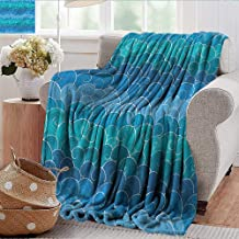 Xaviera Doherty Sand Free Beach Blanket Nautical,Curvy Lines Ocean Storm Extra Cozy, Machine Washable, Comfortable Home Decor 30