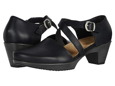 Naot Surreal (Black Raven Leather) Women