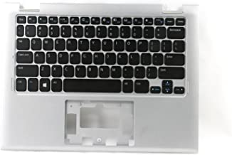 Dell Inspiron 11 3147 3148 90 Keys Silver Palmrest With Keyboard Without Touchpad 7W4K6 C002Y F4R5H V144725AS1