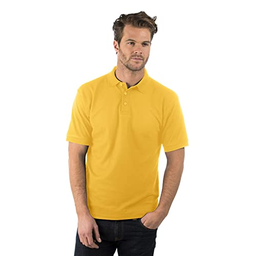 52a6e654 Bruntwood Classic Polo Shirt - Mens & Ladies - 180GSM - Polyester/Cotton