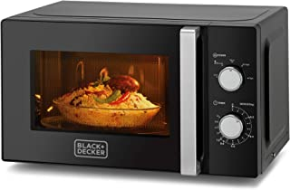 Black+Decker MZ2010P-B5 20 Liter Microwave Oven with Defrost Function - Black